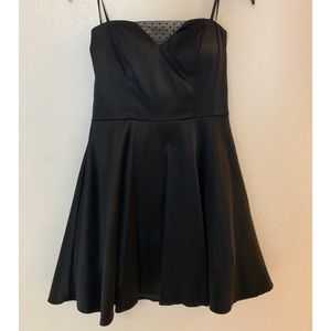 deLia's Little Black Dress Strapless